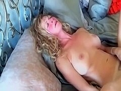 Busty mature i'd like to fuck masturbates on ottoman