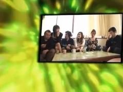 Horny JAV censored porn clip with best japanese girls