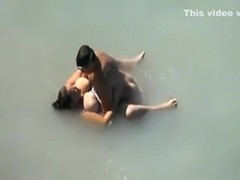 Hidden dude filmed these mexican couple making sex fun in a lake,!holy fuck!