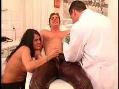 German pair getting their teats pierced Piercing fetish