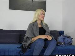 Russian amateur fucks in casting