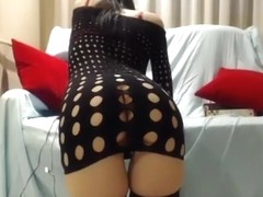 Exotic Amateur video with Stockings, Webcam scenes