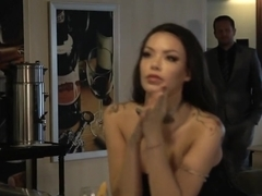 Horny pornstar Sophia Santi in incredible latina, facial xxx video
