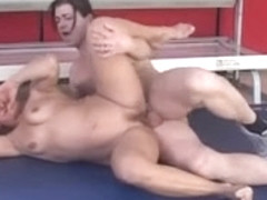 older receive fucked right into an asshole by her coach in gym anal troia