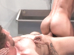 Beef Squad XXX Video: Adam Avery & Austin Wolf - FalconStudios