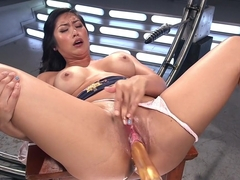 Incredible fetish sex video with exotic pornstar Mia Li from Fuckingmachines