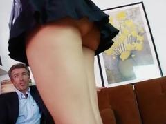Fabulous pornstar Aimee Black in hottest tattoos, small tits sex scene