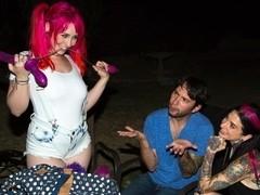 Joanna Angel & Tommy Pistol & Proxy Paige in Proxy Paige Butt Fun Scene