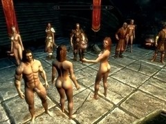 Perils of escaped Skyrim slavegirl 15