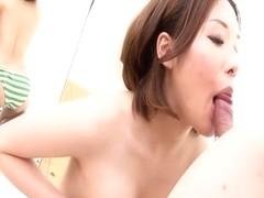 Crazy Japanese model Emi Orihara in Amazing JAV uncensored Cumshots movie