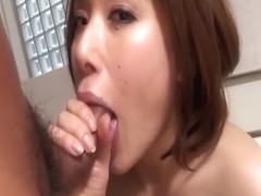 Hottest Japanese model Emi Orihara in Fabulous JAV uncensored Cumshots scene