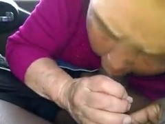 Korean Granny in the Car