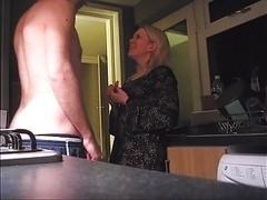 Blonde Whore Dannie Sucks and Fucks