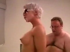German Mother I'd Like To Fuck receives drilled by 3 boyz.