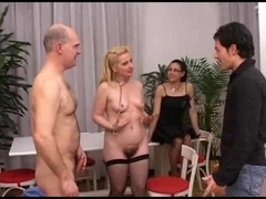 Italian Aged Group Sex