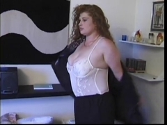 Slutty big beautiful woman Redhead getting Team-Fucked In Her Arse And Bawdy Cleft