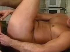 fat granny fuck and oral-sex with food