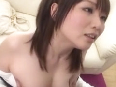 Exotic Japanese chick Hana Nonoka in Fabulous Squirting, Stockings JAV clip