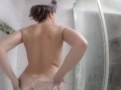 Incredible Homemade movie with Shower, Small Tits scenes