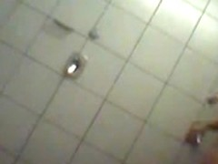 Cougar looks very fuckable in voyeur showers video