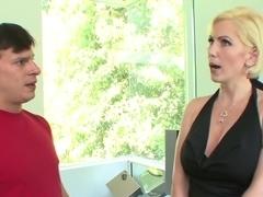 Exotic pornstar Kasey Grant in incredible blonde, facial xxx movie