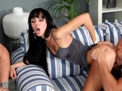 Exotic pornstar in Incredible Cuckold, Blowjob adult video