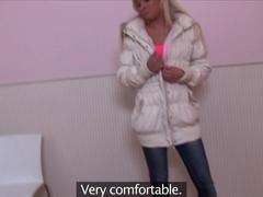 Amazing pornstars Silvie Luca, Eufrat in Crazy Small Tits, Cunnilingus xxx scene