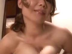 Crazy Japanese girl Mai Kitahori in Amazing Wife JAV scene