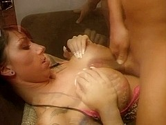 Awesome titjob and a messy facial