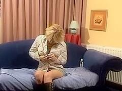 Sexually Lewd dutch cutie gets off on web camera