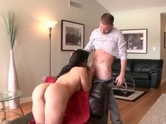 Babe with super sweet and appetite ass Valerie Kay takes in the mouth