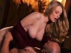 Gorgous busty blonde doll Stacie Jaxxx gets boned