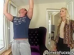 Cunt licked glam slut cum