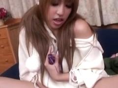 Fabulous Japanese girl Hatsuka in Incredible JAV uncensored Hairy video