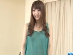 Dazzling POV porn show along sweet Rei Furuse