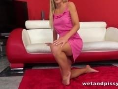 Sexy Kiara Lord ###s through her panties