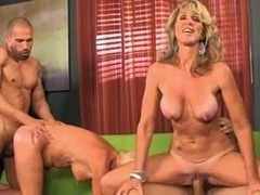 1 milf 1 granny 2 younger guys