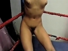 Interracial Ring Wrestling