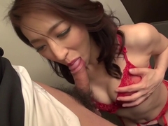 Exotic Japanese whore Marina Matsumoto in Horny JAV uncensored Lingerie clip