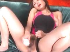 Exotic Japanese model Natsumi Horiguchi in Incredible Squirting, BDSM JAV video