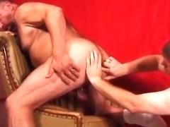Big gay bears improve cock sucking skills