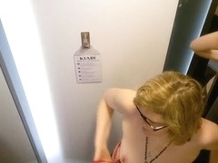 Love tits in changing room
