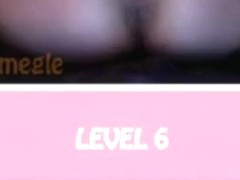 Chubby girl plays the new omegle points game