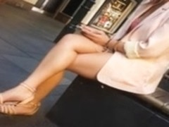 Bare Candid Legs - BCL#001