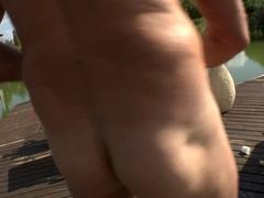 Exotic pornstars Susana Melo, Alessandra Jane, Rocco Siffredi in Fabulous Outdoor, Redhead adult v.