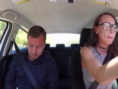 Aidra Fox In Driving Dick