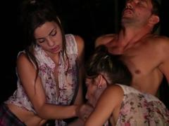 Fabulous pornstars Shana Lane, Sunny Spark, Jesika Diamond in Horny Group sex, Cunnilingus adult s.