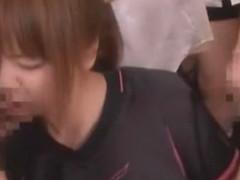 Horny Japanese whore Mahiru Hino in Exotic Sports, BDSM JAV movie