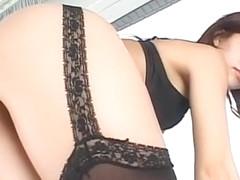 Amazing Japanese chick in Incredible Lingerie, MILFs JAV scene