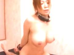 Exotic Japanese girl Yuka Minase in Crazy Fingering, Cumshots JAV video
